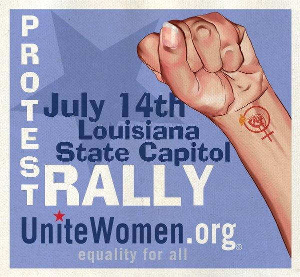 UniteWomen.org-LA protest poster