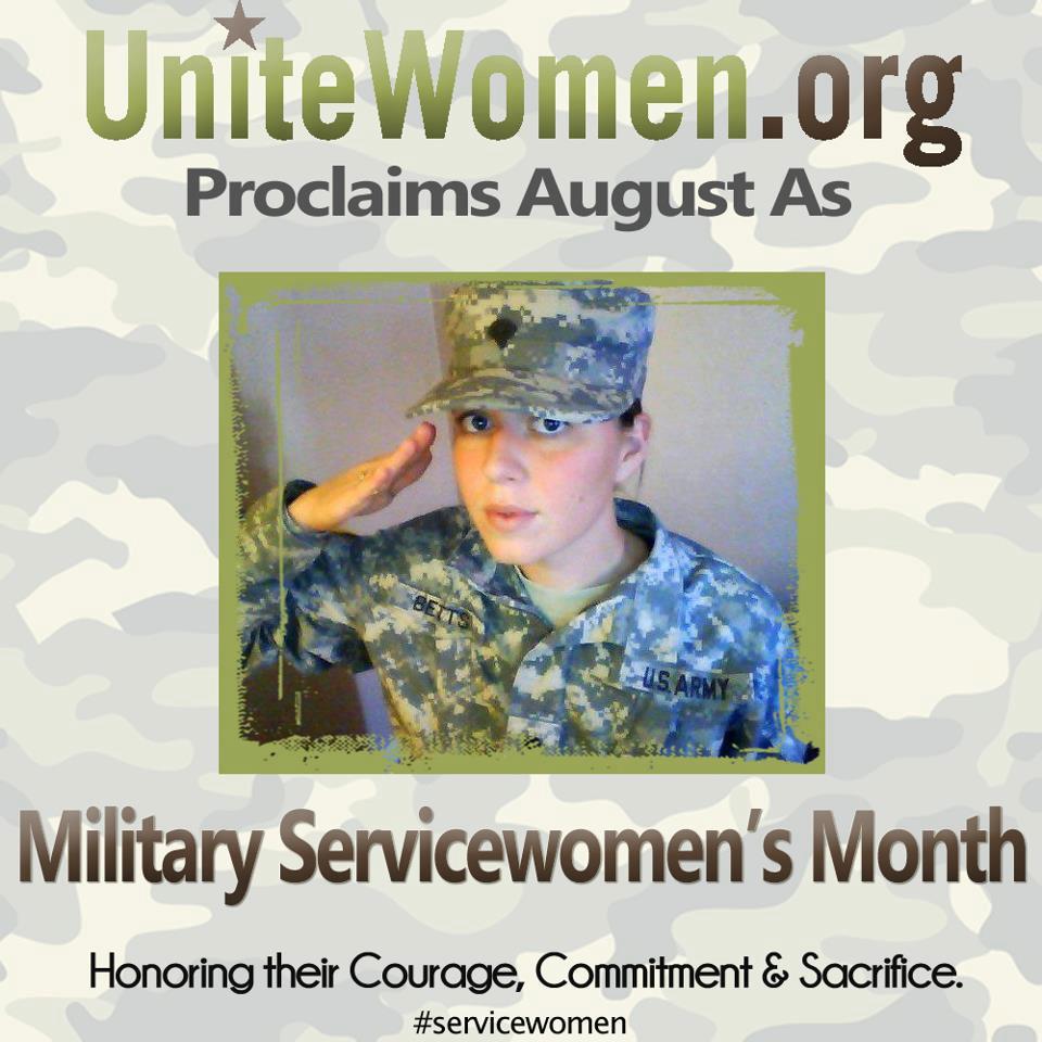 UniteWomen.org-honoring servicewomen heather