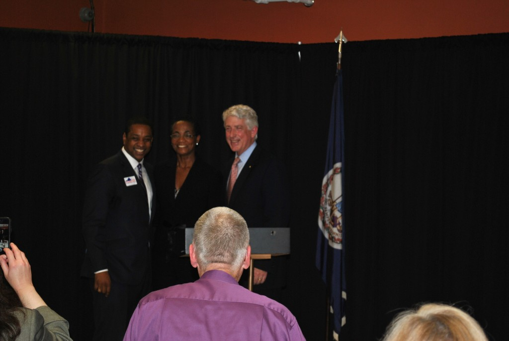 Attorney General Candidates, Justin Fairfax (l) and Mark Herring (r)