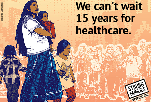 We can't wait 15 years for healthcare.