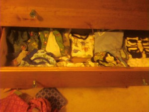 boy pajama drawer