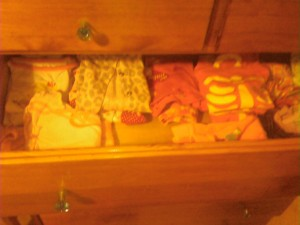 girl pajama drawer