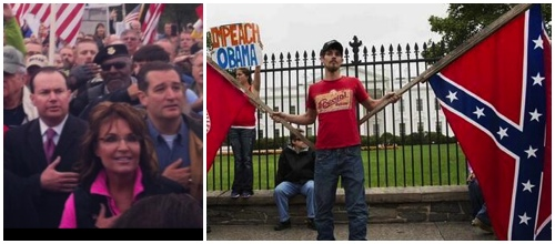 Palin, Cruz, Lee Confederate Flag