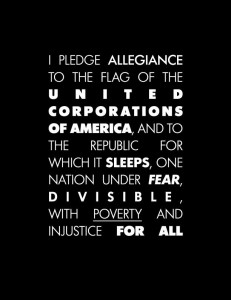 Pledge to Corporations